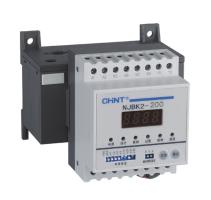 NJBK2系列电动机保护继电器(以下简称保护器),适用于交流50Hz、额定工作电压660V以下、额定工作电流1A~800A的长期工作或间断工作的交流电动机的过载、堵转、断相、三相电流不平衡、接地及PTC温度保护。符合标准:GB 14048.4,IEC 60947-4-1。
