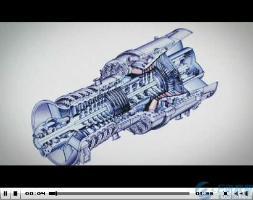 西门子空冷式燃气能机SGT5-8000H制造装配