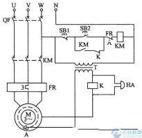 电动机防水保护电路