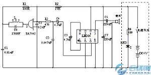 电气图简图的布局方法