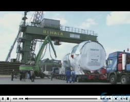 西门子空冷式燃气能机SGT5-8000H安装调试
