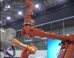 ABB机器人系列不同功能及应用现场展示
